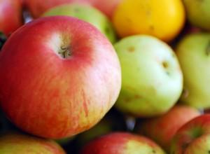 comer manzanas=menos kilos